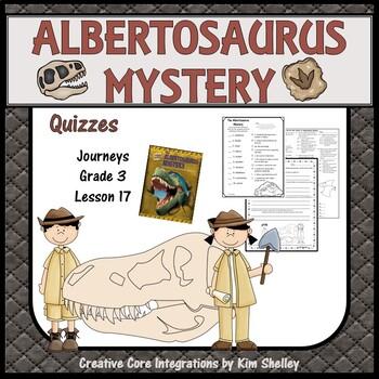 The Albertosaurus Mystery - Quizzes
