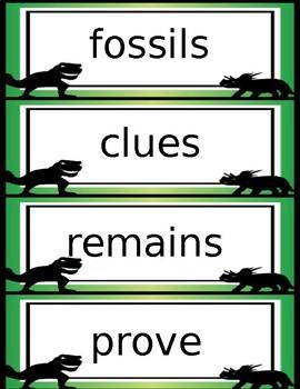 The Albertosaurus Mystery Reading Activities