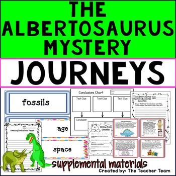 The Albertosaurus Mystery Journeys 3rd Grade Unit 4 Lesson 17 Activities
