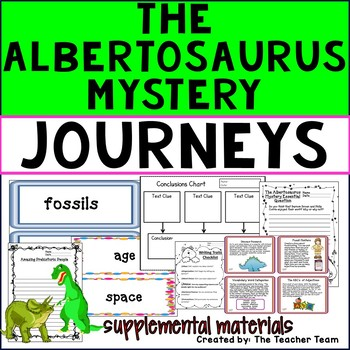The Albertosaurus Mystery Journeys Third Grade Supplementa