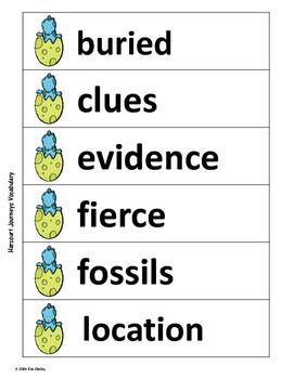 The Albertosaurus Mystery - Vocabulary