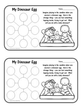 The Albertosaurus Mystery - Writing