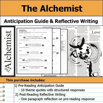 The Alchemist - Anticipation Guide & Reflection