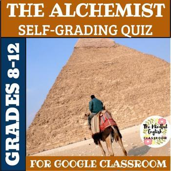 The Alchemist Self-Grading Digital Comprehension Quiz for Google Classroom