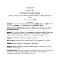 The Alchemist Intro Through Vocab