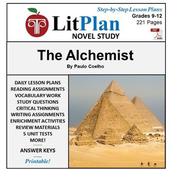 The Alchemist: LitPlan Teacher Guide - Lesson Plans, Questions, Tests