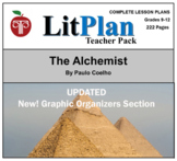 The Alchemist: LitPlan Teacher Guide - Lesson Plans, Quest