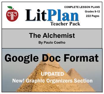 The Alchemist LitPlan in Google Doc Format