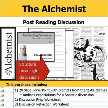 The Alchemist - Socratic Method - Post Reading Discussions