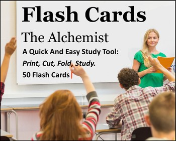 The Alchemist Study Flash Cards