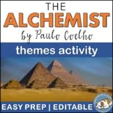 the alchemist teaching resources teachers pay teachers the alchemist themes textual analysis activity