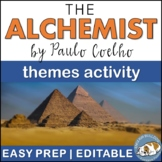 The Alchemist Themes Textual Analysis Activity