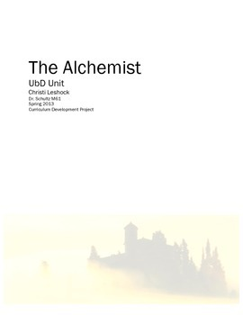 The Alchemist UbD Unit