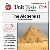 The Alchemist Unit Test Interactive PDF Format