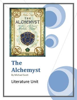 """The Alchemyst"", by Michael Scott, Complete Literature Unit, 58 pgs."