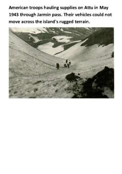 The Aleutian Islands campaign Handout