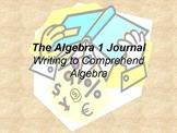 The Algebra 1 Journal