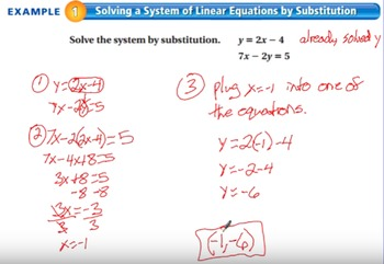 """The Algebra Flipped Classroom: Chapter 5 """"Systems of Linear Equations"""""""