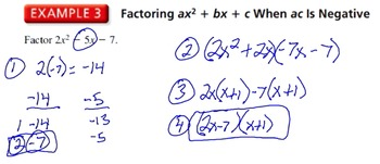 "The Algebra Flipped Classroom: Chapter 7 ""Polynomial Equations and Factoring"""