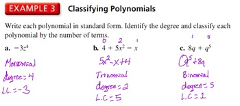 """The Algebra Flipped Classroom: Chapter 7 """"Polynomial Equat"""