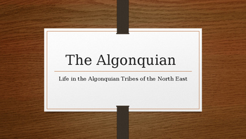 The Algonquain