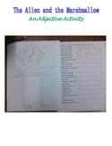 The Alien & the Marshmallow Adjective Activity