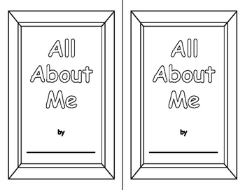 "The ""All About Me"" Book"