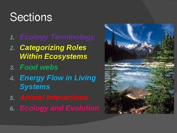 "The ""All Inclusive"" Introduction to Ecology"