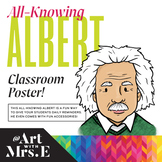 All-Knowing Albert || Classroom Poster