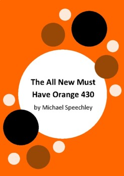 The All New Must Have Orange 430 by Michael Speechley - 6 Worksheets