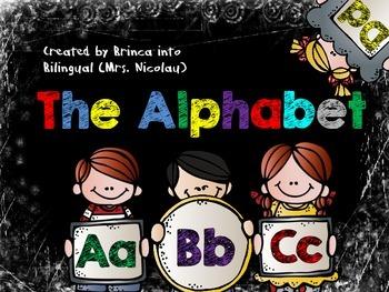 The Alphabet - Bulletin Board, small groups & interactive