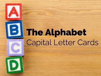 The Alphabet Capital Letter Cards