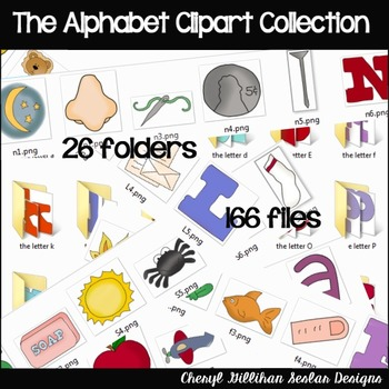 The Alphabet Clipart Collection SALE....LIMITED TIME!!!!