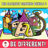 The Alphabet Clipart Letters And Numbers Growing Bundle 2