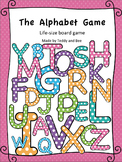 The Alphabet Game - Life Size Board Game