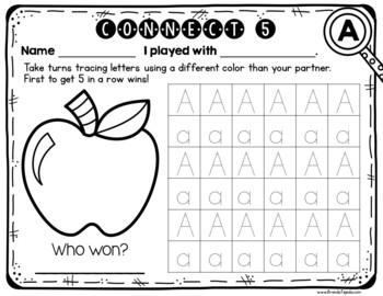 The Alphabet Games: BUNDLE