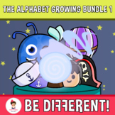 The Alphabet Clipart Letters And Numbers Growing Bundle 1