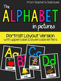 The Alphabet In Pictures (portrait) from Teacher's Clubhouse