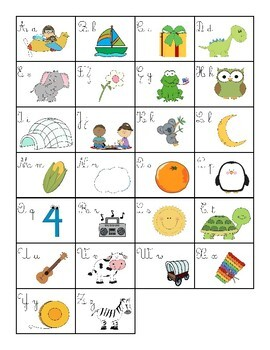 The Alphabet - L'Alphabet (French ONLY)