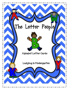 Alphabet Letter People