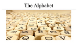 The Alphabet: Photos and Phonetics  for ESL