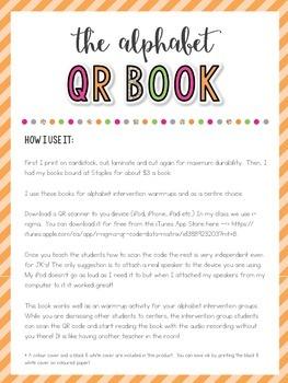 The Alphabet QR Code Book