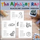 The Alphabet Rap (Student Size) - An Alphabet Sound Chant / Song
