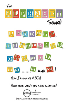 The Alphabet Song Sheet!