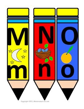 The Alphabet on Pencils