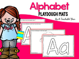 The Alphabet Playdough Mats