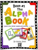 The Alphabook- Learn Letter Names & Sounds Fast with Audio