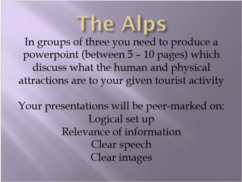 The Alps And Their Uses