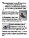 The Alternative Winter Sport of Shovel Racing Reading Passage