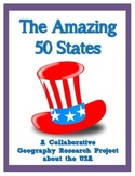 The Amazing United States Geography Research Project